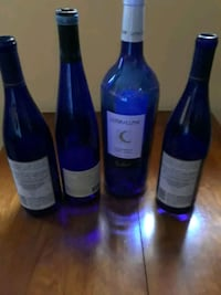 BLUE BOTTLES FOR CRAFTS OR DECO ! Wallkill, 12589