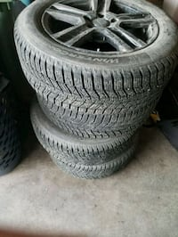 Continental winter tires plus rims Calgary, T2X 1Z3