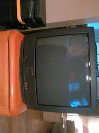 black sharp crt tv Martins Ferry, 43935