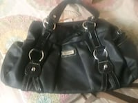 black leather  purse $8 best offer excellent cond Tempe