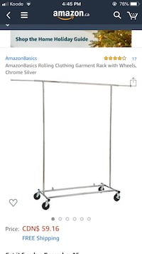 Heavy Duty Clothing Rack
