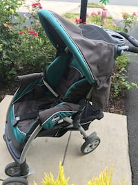 baby's black and teal stroller Aldie, 20105