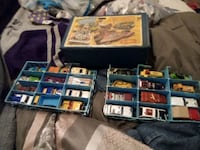 Full vintage matchbox sent has some vintage hot wheels from 1976 Red Lion, 17356