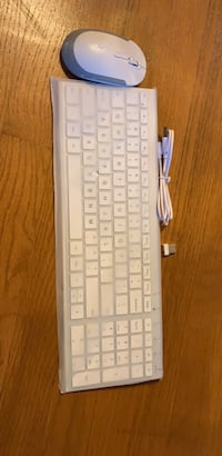 white and gray corded computer keyboard Skokie, 60076