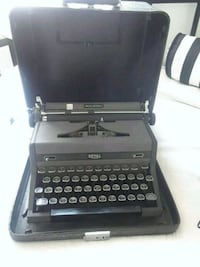 black and gray Olympia typewriter El Paso, 79938