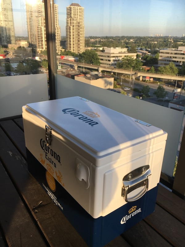 Used Corona Cooler Box Aluminum Retails For 200 In Burnaby Letgo