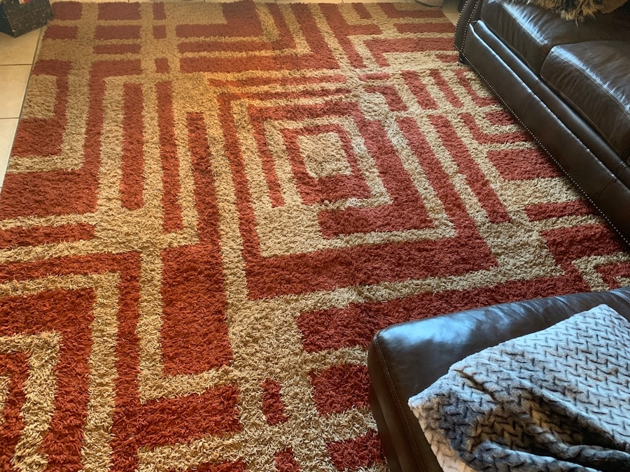Photo Area rug and matching runner set
