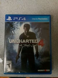 Uncharted 4 PS4 game case Melbourne, 32901