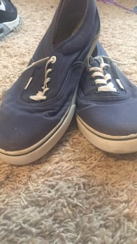 pair of blue Vans low-top sneakers Wake Forest, 27587