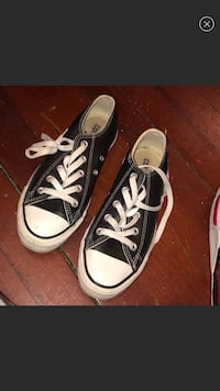 Black converse all star low top sneakers Troy, 12182