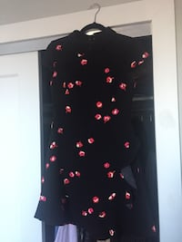 Lovely Kate Spade petite flower ruffle dress New York, 10026