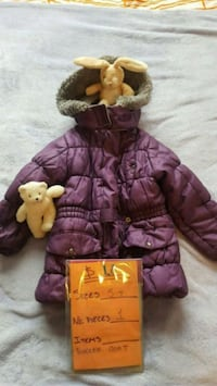 Purple Toddler jacket-$10 Burnaby, V5H 1P2