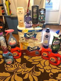 assorted household cleaning products lot Portsmouth, 23703
