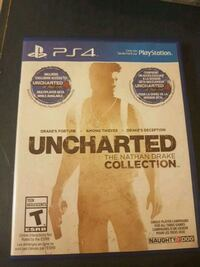 Uncharted The Nathan Drake Collection PS4 game case 536 km