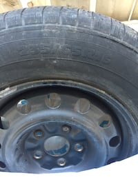 All season tires with Rim.235/65R16 in good condition.250 or best offer Toronto, M1L 1Z3