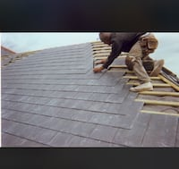 Roofing on houses commercials freeestimates we come to you we also work with insurance whole roofs and patching to Metal roofs as well if you are interested please text me Riverside, 92503