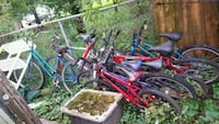 All the bikes behind my shed Machesney Park, 61115