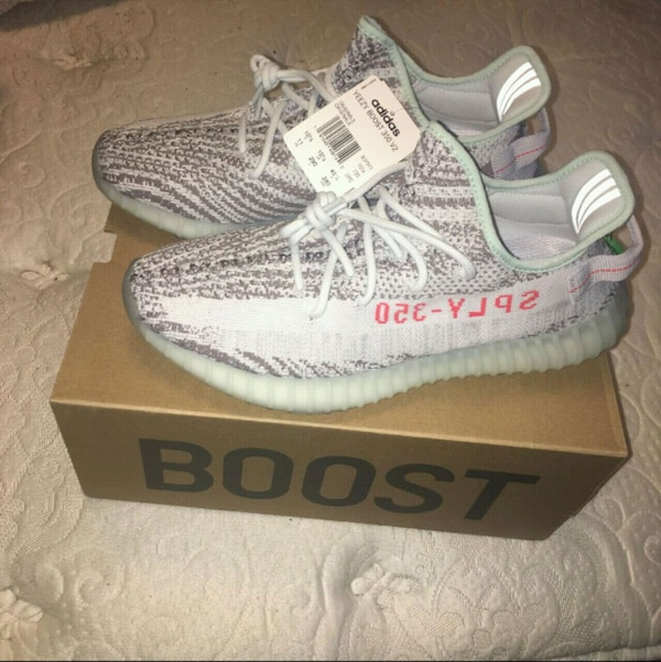 on sale 5a6ed 13991 Used Adidas Yeezy Boost 350 Blue Tint Deadstock Size 11 for sale in New  York - letgo