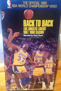 Lakers back to back 1987 / 88