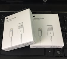 Apple Original 3ft Lightning Charger Cables for iPhone & iPad