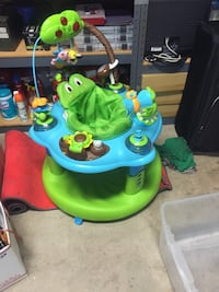 baby's green and blue activity center San Diego, 92114