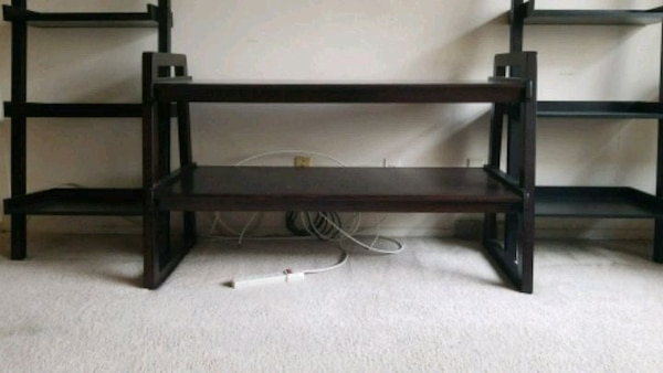 Wooden TV/media stand