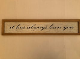 It has always been you rustic wooden sign decor from Michael's
