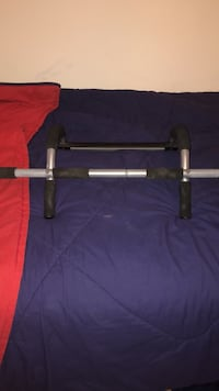 black and gray pull up bar Round Hill, 20141