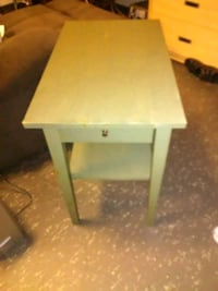 square white wooden side table Vancouver, V6Z 1Y9