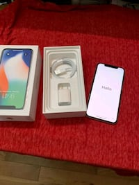 Unlocked iPhone X 256gb Burlingame