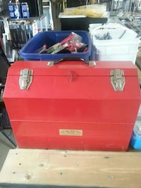 red  tool box Brockville, K6V 5T1