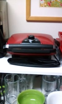 George Forman grill barely used price negotiable 43 km