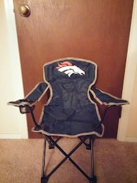 Broncos Coleman kids camping chair
