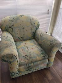 brown and green floral sofa chair Mount Pleasant, 29464