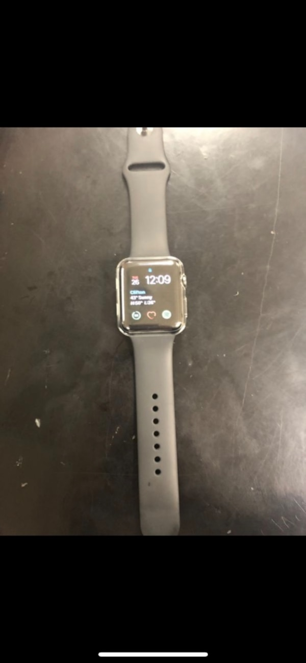 Apple Watch series 3 42mm space grey.