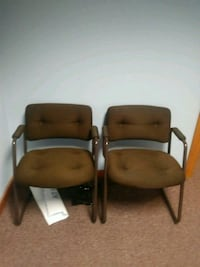 two brown-and-black armchairs Keene, 03431