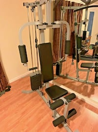 Powerline PHG1000X home gym with 150 Lb stack upgrade
