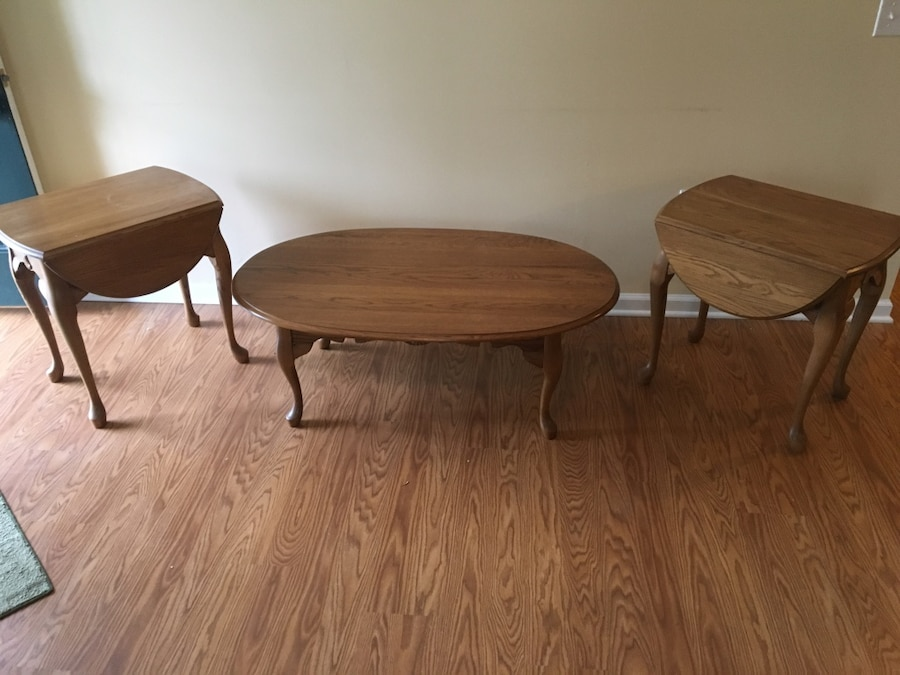 Letgo Solid Oak Coffee Tables And End T In Woodbine Ky