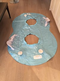Used once - double inner tube inflatable float Calgary, T2E 0H4