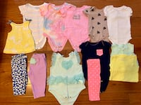 Baby girl 3-6 & 6 months clothes Woodbridge, 22192