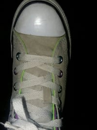 White Converse all star shoes Franklin, 16323