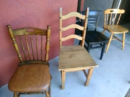All offers accepted* 4 random chairs