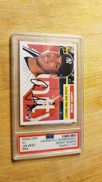 Aaron Judge Rookie baseball Yankees card PSA 10 Waterbury, 06708
