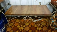 Wrought Iron and Wood Bench Gastonia, 28052