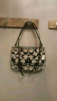 black and gray Coach bag Knoxville, 37920