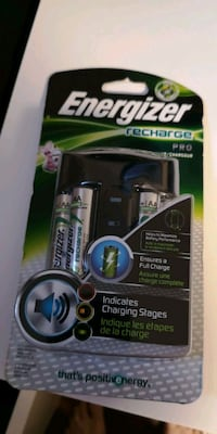 brand new..never opened..Energizer rechargeables