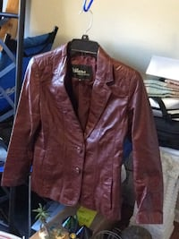 Wilson's Suede & Leather Coat