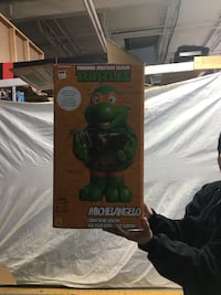 TMNT Michelangelo Candy Bowl Holder  Mississauga, L4W 1C9