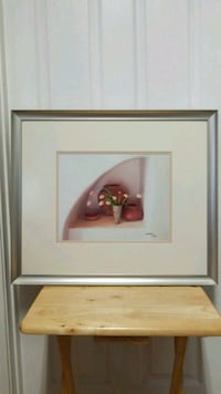 """Painting professionally framed, numbered 25""""x21"""" Mobile, 36695"""