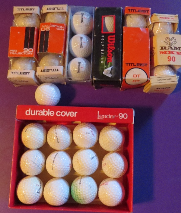 GOLF BALLS.     ASKING $35.00  c7cd0a3b-0a23-4134-a001-bc616847e88d